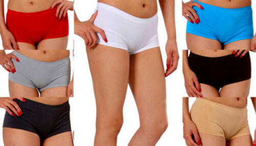 LOT-Hipster-Yoga-Sports-Booty-Boy-shorts-Panties-Club-Seamless-Dance-Rave-O-S