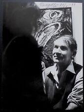 Photo Andre Villers - Bengt Lindström - Tirage argentique d'époque 1984 -