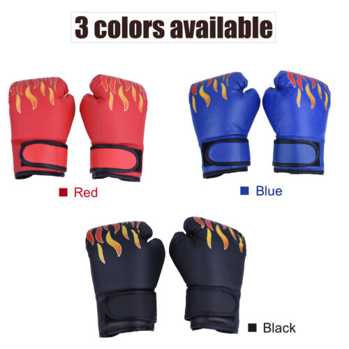 Hand Wraps Boxing Gloves Padded MMA Muay Thai Karate Sparring Mittrns for Kids