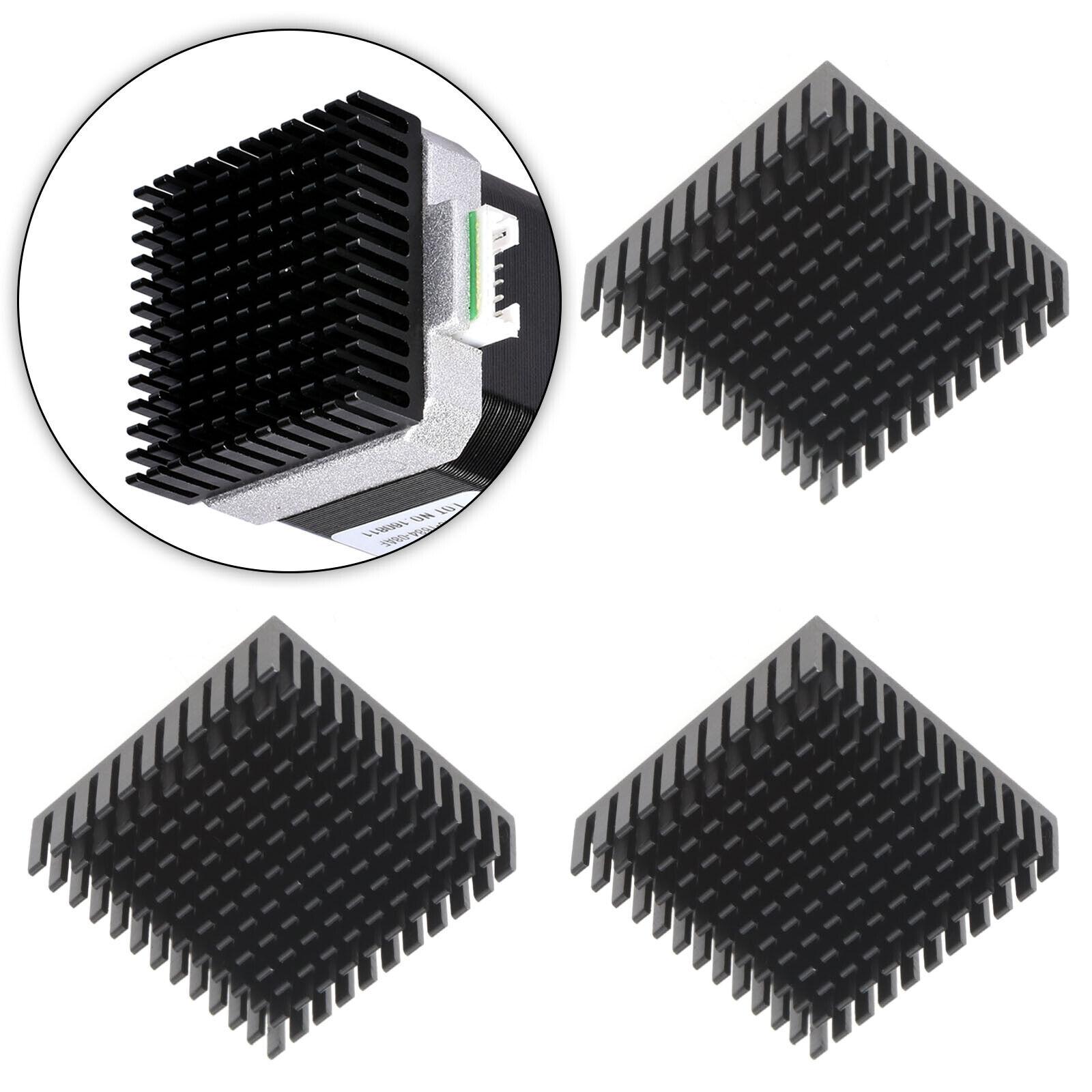 3Pcs 40x40x10mm Heatsink Compatible with NEMA 17 42 Stepper Motor GPU IC