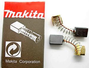 BR 6100 6013 6010 2x Kohle Bürsten 5 x 8 x 12mm für Makita 5601 6013 B