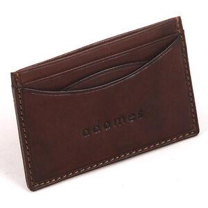 Luxury Italian Leather Slimline (Minimalist Design) Credit Card Holder ... 6ba9f1a1b89f9