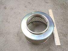 4 Steel Round Hole Strainer Basket Witches Hat Trash Pump Suction Hose