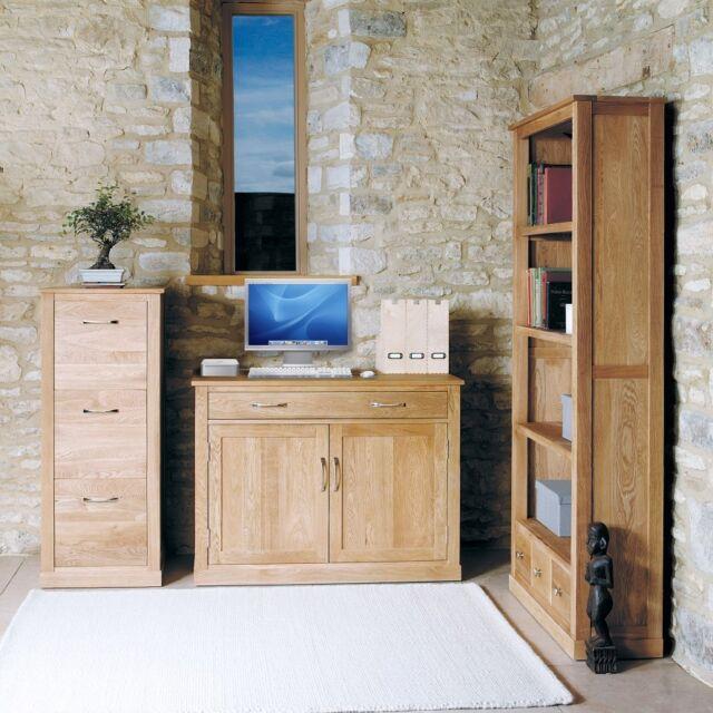 mobel oak wooden furniture hidden home office computer desk