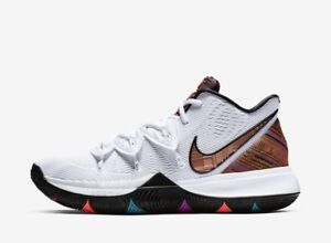 wholesale dealer 0af2a 29e1b Details about Nike Kyrie Irving 5 V BHM Black History Month BQ6237-100  White Men's & Kids GS