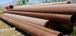 16 Diameter Steel Pipe 0.500 Wall Thickness 34 ft Long Lengths Canada Preview