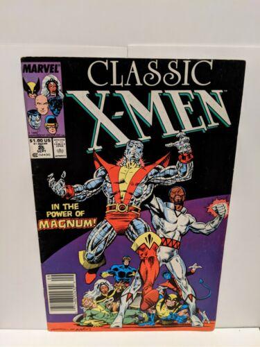 Classic X-Men #22 June 1988 Marvel Comics