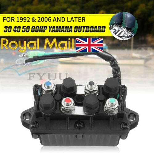 1 X Boat ATVs Trim/&Tilt Relay For Yamaha 30-90hp Outboard Engine 6H1-81950-00-00