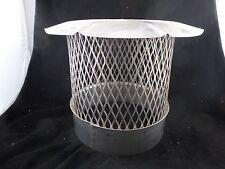 """Central Boiler Stainless Steel Spark Arrestor 10"""" Expanded Metal #392"""