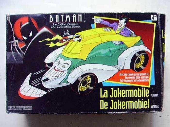BatFemme Série Animé 1993 Jokermobile Voiture Du Joker avec Missile  BOITE | Excellent (dans) La Qualité