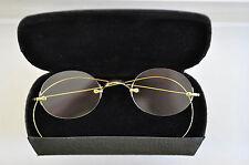 Vtg. 14K solid gold 3-piece mount eyeglasses