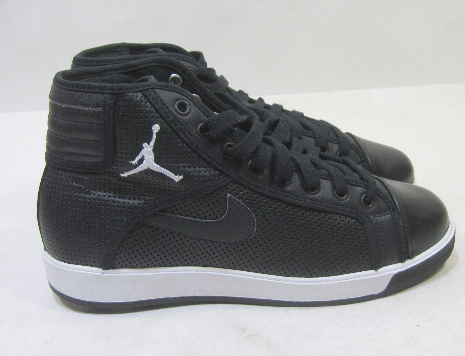 Nuevo Air Jordan Jordan Jordan Cielo Alta Blanco y Negro Cemento Gris 414960-001 Tamaño 9 358860