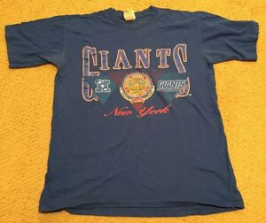 Vintage 90's New York Giants Tshirt MADE IN USA