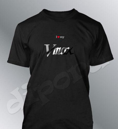 T-Shirt Customised Vmax S M L XL XXL Man Motorcycle V Max
