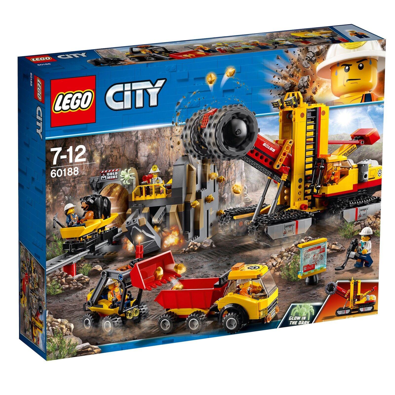 LEGO ® City 60188 miniere professionisti la degradazione vista democratico NUOVO OVP _ NEW MISB NRFB