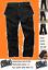 Nucleo-duro-Grano-Resistente-Pantalones-De-Trabajo-Bolsillos-Cargo-Estilo-Funda-Negro-Rodilla-Pkt miniatura 1