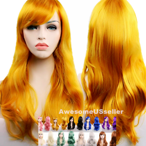 70cm-Long-Curly-Women-Cosplay-Costume-Party-Hair-Anime-Wigs-Wavy-Wig-Full-Hair