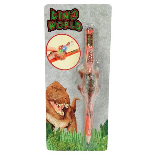Leuchtender Dinosaurier Depesche 5401 Dino World Bleistift mit Leucht Dino