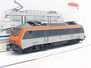Maerklin-H0-3334-E-Lok-Serie-BB-26000-26-006-Mulhouse-SNCF-OVP-V3208