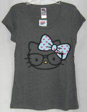 Hello Kitty NERDY TEE SCOOP NECK NICE GIFT FREE USA SHIPPING XLARGE NWT