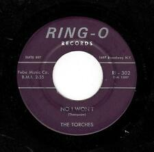 MID-TEMPO 60's SOUL-TORCHES-RING-O-302-NO I WON'T/DARN YOUR LOVE