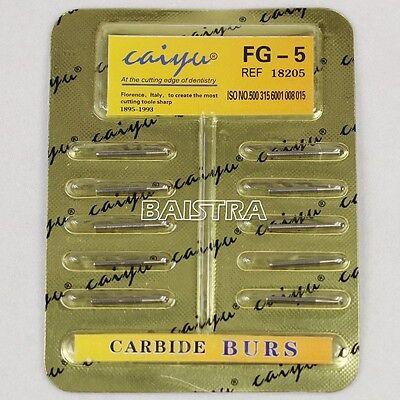 Dental Tungsten Steel Carbide burs For High Speed Handpiece baistraworld  FG-5