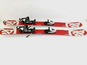 Salomon-K2-APACHE-T5Z-JR-DOWNHILL-SKIS-MARKER-4-5-ADJUSTABLE-BINDINGS