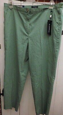 Realistico Pantaloni-chino-tg. 46 L Gardeur-verde Modello-merce Nuova-mostra Il Titolo Originale Elevato Standard Di Qualità E Igiene