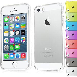 Apple-iPhone-4-4s-5-5s-TPU-Silikon-Schutz-Huelle-Bumper-Crystal-Case-Handy-Tasche