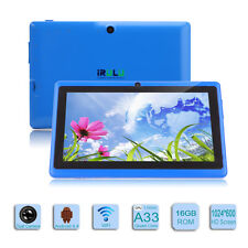 "iRULU 7"" A33 Quad-Core 16GB 1.5GHz WiFi Dual Camera Google Android 4.4 Tablet"