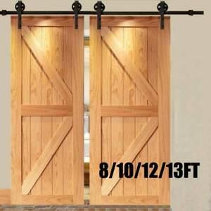 Sliding Barn Wood Door Track Hardware Set Door Kit for ...