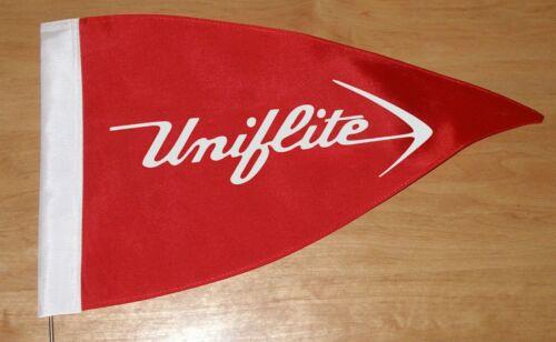 NEW Vintage Style Uniflite Boat Flag Burgee Pennant