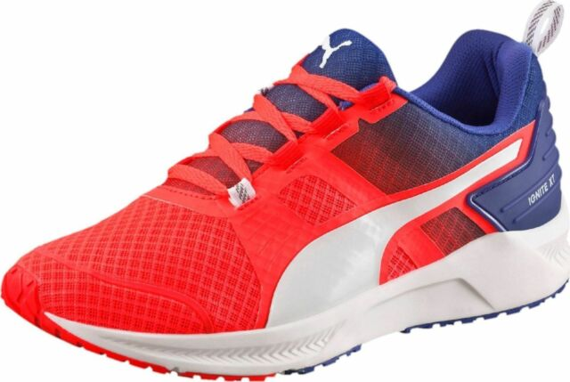 d951c9dde51e95 NEW Puma Ignite XT v2 Womens Red Running Shoes Ladies Trainers SRP £79.99