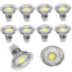 10X GU10 5W LED 230V in warmweiß oder weiß passend für Einbaustrahler und Lampen