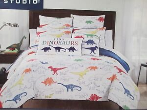 Pottery Barn Kids organic Mermaid duvet cover only Queen crab pink blue green