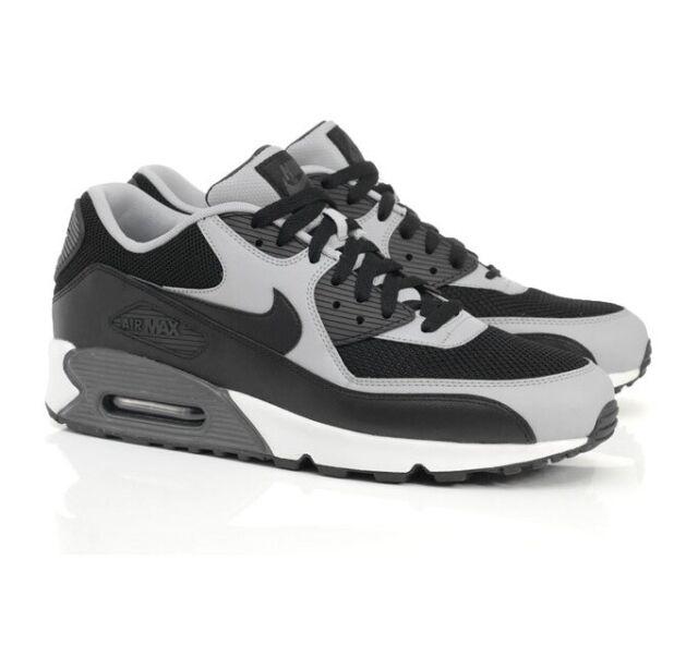 Nike Air Max 90 Essential BlackWolf Grey Mens Sizes NIB 537384 053