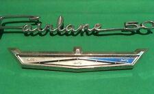 Original 1963 1964 Ford Fairlane Galaxie Emblem C4oz 517a18 Vintage Oem