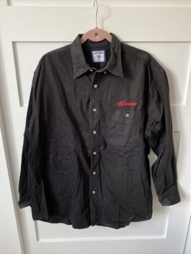 Vintage Midway Games Black Demin Button Up by Lee