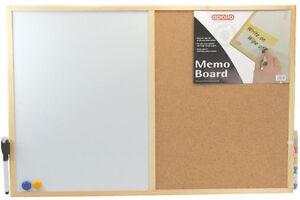 Half-Pin-Board-Half-Dry-Wipe-Kitchen-Office-Memo-Board-with-Marker-Pen-Magnets