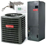 3 Ton Goodman 16 Seer A/c Variable Complete Syst Gsx160361+avptc37c14