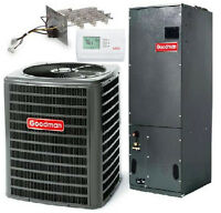 3.5 Ton 3 1/2 Goodman 16 Seer A/c Variable Complete Syst Gsx160421+avptc49d14