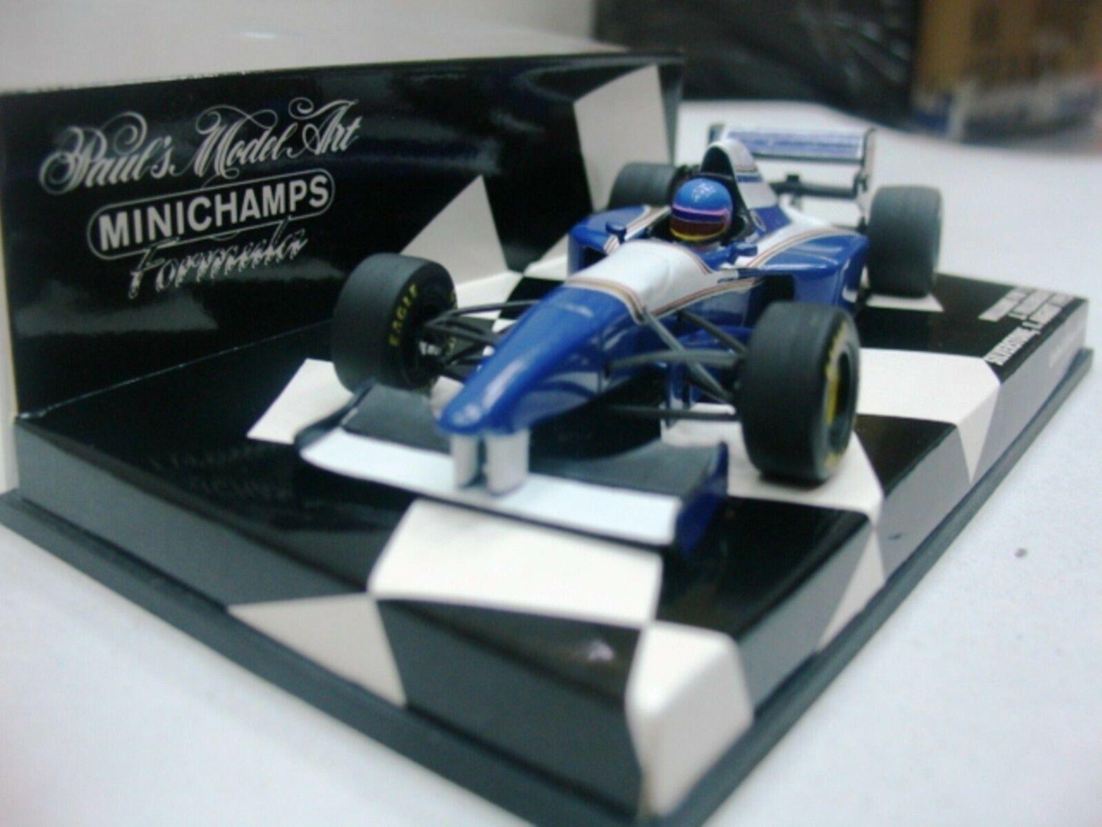 WOW EXTREMELY RARE Williams FW17 Villeneuve Silverstone 1995 1 43 Minichamps