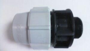 Plasson Tuyau d'eau à filetage mâle Adaptateur 7020-50 mm x 1.5 in (environ 3.81 cm) #7B529-afficher le titre d`origine HfWvRGIw-07204844-708312799