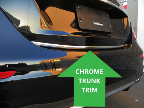 Chrome TRUNK TRIM Tailgate Molding Kit for LandRover models