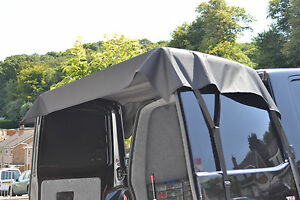 FORD TRANSIT MK7 REAR DOORS AWNING COVER