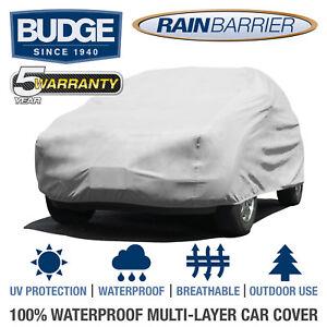 "Budge Rain Barrier SUV Cover Fits Medium SUVs up to 15'5"" Long | Waterproof"
