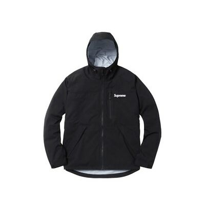 Supreme Taped Seam Jacket SS17 Black Sz Large