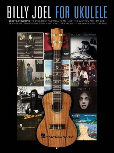 Billy Joel for Ukulele Sheet Music Ukulele Book NEW 000121889