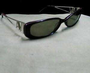 d77b87ff80c Image is loading Adrienne-Vittadini-Women-039-s-Sunglasses-Italy-Black-