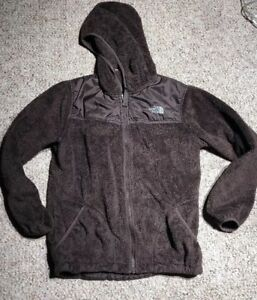 06772850f8e4 The North Face Girls Osito Denali Brown Fuzzy jacket With Hood size ...